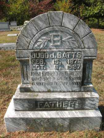 BATTS, JUDD JAMES - St. Francis County, Arkansas | JUDD JAMES BATTS - Arkansas Gravestone Photos