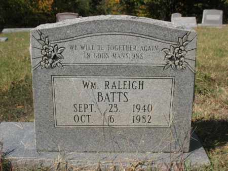 BATTS, WILLIAM RALEIGH - St. Francis County, Arkansas | WILLIAM RALEIGH BATTS - Arkansas Gravestone Photos