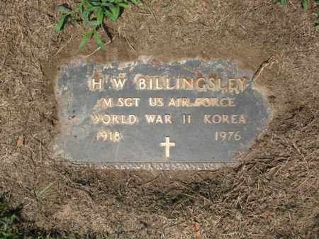 "BILLINGSLEY (VETERAN 2 WARS), HESTER WARREN ""TOGE"" - St. Francis County, Arkansas 