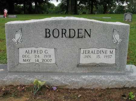 BORDEN, ALFRED G - St. Francis County, Arkansas | ALFRED G BORDEN - Arkansas Gravestone Photos