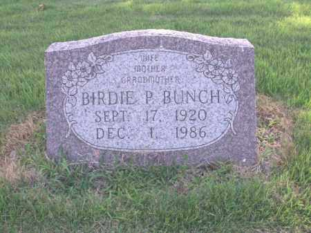 BUNCH, BIRDIE P. - St. Francis County, Arkansas | BIRDIE P. BUNCH - Arkansas Gravestone Photos