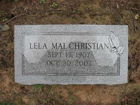 PUCKETT CHRISTIAN, LELA MAI - St. Francis County, Arkansas | LELA MAI PUCKETT CHRISTIAN - Arkansas Gravestone Photos
