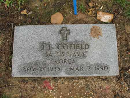 COFIELD (VETERAN KOR), J L - St. Francis County, Arkansas | J L COFIELD (VETERAN KOR) - Arkansas Gravestone Photos