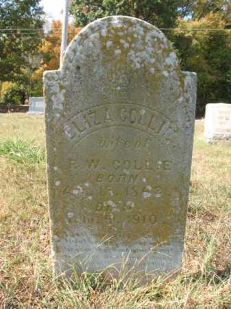 COLLIE, ELIZA - St. Francis County, Arkansas | ELIZA COLLIE - Arkansas Gravestone Photos