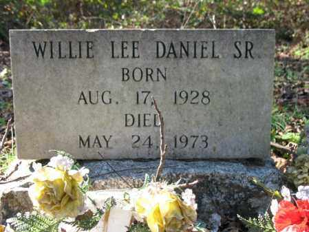 DANIEL, SR., WILLIE LEE - St. Francis County, Arkansas | WILLIE LEE DANIEL, SR. - Arkansas Gravestone Photos
