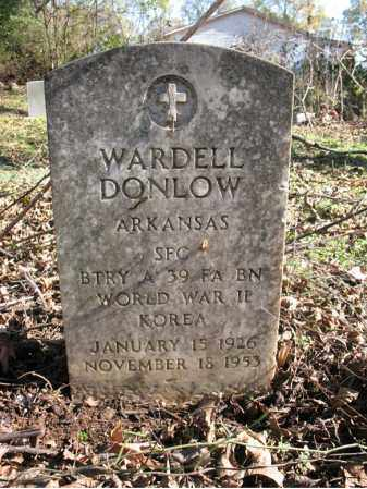 DONLOW (VETERAN 2 WARS), WARDELL - St. Francis County, Arkansas | WARDELL DONLOW (VETERAN 2 WARS) - Arkansas Gravestone Photos