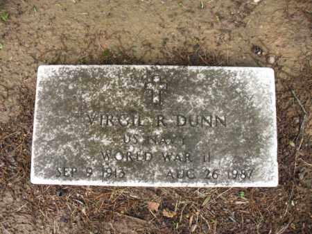 DUNN (VETERAN WWII), VIRGIL ROY - St. Francis County, Arkansas | VIRGIL ROY DUNN (VETERAN WWII) - Arkansas Gravestone Photos