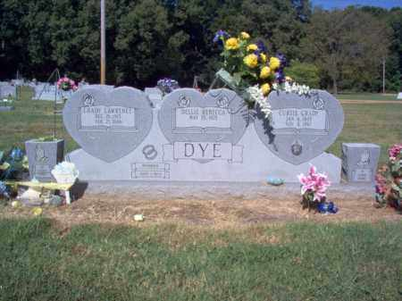 DYE, CURTIS GRADY - St. Francis County, Arkansas | CURTIS GRADY DYE - Arkansas Gravestone Photos
