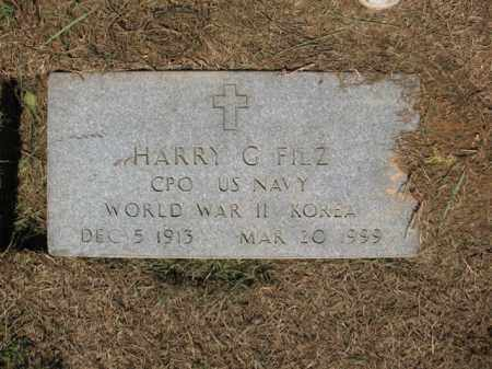 FILZ (VETERAN 2 WARS), HARRY G - St. Francis County, Arkansas | HARRY G FILZ (VETERAN 2 WARS) - Arkansas Gravestone Photos