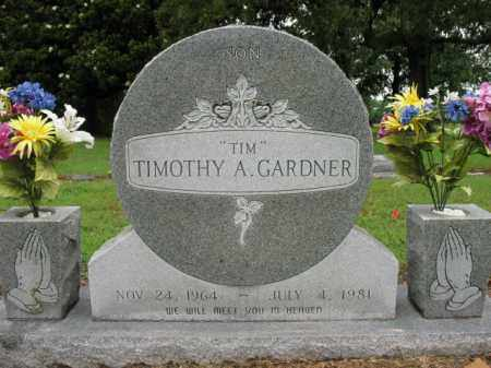 "GARDNER, TIMOTHY A  ""TIM"" - St. Francis County, Arkansas 