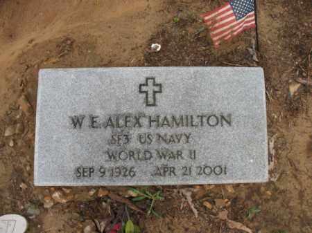 "HAMILTON (VETERAN WWII), WILBUR E  ""ALEX"" - St. Francis County, Arkansas | WILBUR E  ""ALEX"" HAMILTON (VETERAN WWII) - Arkansas Gravestone Photos"