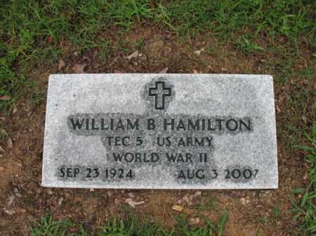 "HAMILTON (VETERAN WWII), WILLIAM B ""SONNY"" - St. Francis County, Arkansas | WILLIAM B ""SONNY"" HAMILTON (VETERAN WWII) - Arkansas Gravestone Photos"