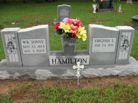 "HAMILTON, WILLIAM B ""SONNY"" - St. Francis County, Arkansas 