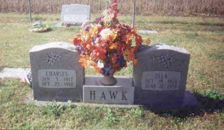 HAWK, ELLA ELVINA - St. Francis County, Arkansas | ELLA ELVINA HAWK - Arkansas Gravestone Photos