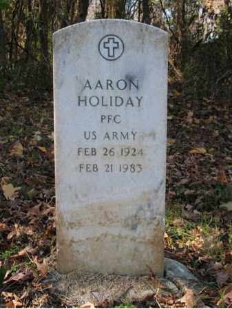 HOLIDAY (VETERAN), AARON - St. Francis County, Arkansas | AARON HOLIDAY (VETERAN) - Arkansas Gravestone Photos