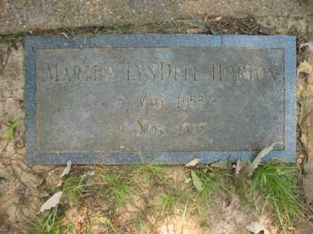 HORTON, MARTHA LYNDELL - St. Francis County, Arkansas | MARTHA LYNDELL HORTON - Arkansas Gravestone Photos