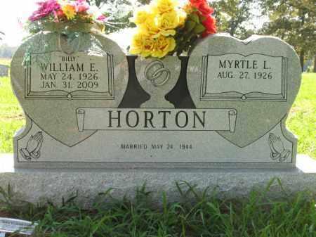 "HORTON, WILLIAM EDWARD ""BILLY"" - St. Francis County, Arkansas | WILLIAM EDWARD ""BILLY"" HORTON - Arkansas Gravestone Photos"