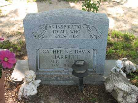 DAVIS JARRETT, CATHERINE - St. Francis County, Arkansas | CATHERINE DAVIS JARRETT - Arkansas Gravestone Photos