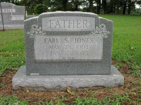 JONES, EARL S - St. Francis County, Arkansas | EARL S JONES - Arkansas Gravestone Photos
