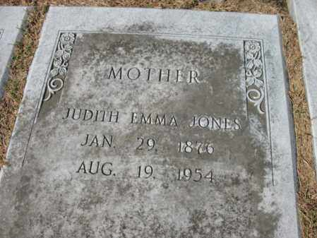 JONES, JUDITH EMMA - St. Francis County, Arkansas | JUDITH EMMA JONES - Arkansas Gravestone Photos