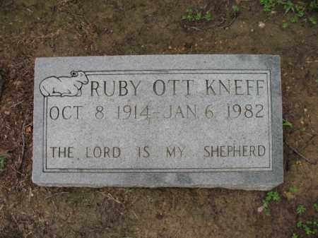 OTT KNEFF, RUBY - St. Francis County, Arkansas | RUBY OTT KNEFF - Arkansas Gravestone Photos