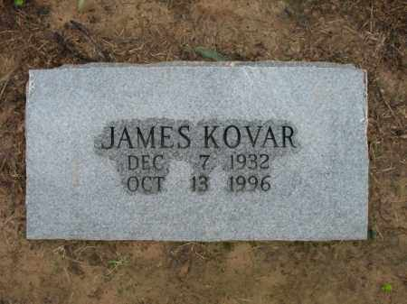KOVAR, JAMES - St. Francis County, Arkansas | JAMES KOVAR - Arkansas Gravestone Photos