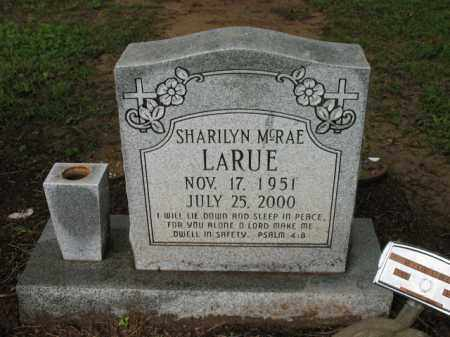 MCRAE LARUE, SHARILYN - St. Francis County, Arkansas | SHARILYN MCRAE LARUE - Arkansas Gravestone Photos