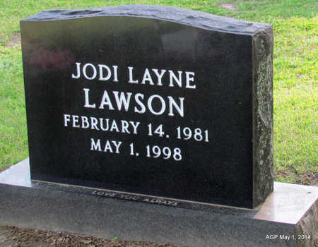 LAWSON, JODI LAYNE - St. Francis County, Arkansas | JODI LAYNE LAWSON - Arkansas Gravestone Photos