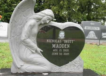 "MADDEN, NICHOLAS ""BRETT"" - St. Francis County, Arkansas | NICHOLAS ""BRETT"" MADDEN - Arkansas Gravestone Photos"