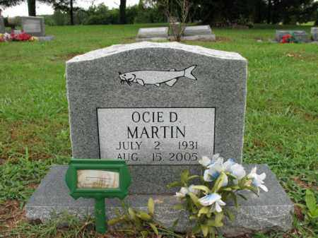 MARTIN, OCIE D - St. Francis County, Arkansas | OCIE D MARTIN - Arkansas Gravestone Photos