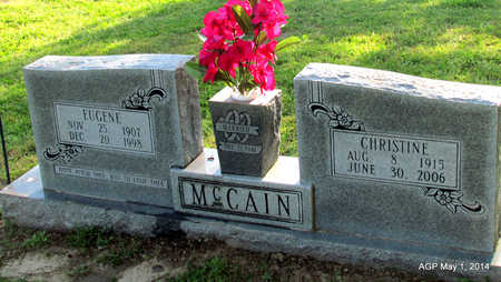 MCCAIN, ROSIE CHRISTINE - St. Francis County, Arkansas | ROSIE CHRISTINE MCCAIN - Arkansas Gravestone Photos