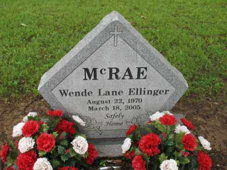 MCRAE, WENDE LANE - St. Francis County, Arkansas | WENDE LANE MCRAE - Arkansas Gravestone Photos