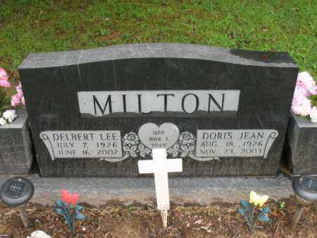 MILTON, DELBERT LEE - St. Francis County, Arkansas | DELBERT LEE MILTON - Arkansas Gravestone Photos