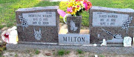 MILTON, JAMES HAROLD - St. Francis County, Arkansas | JAMES HAROLD MILTON - Arkansas Gravestone Photos