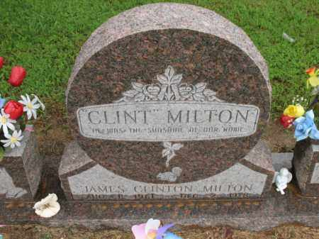 "MILTON, JAMES CLINTON ""CLINT"" - St. Francis County, Arkansas 
