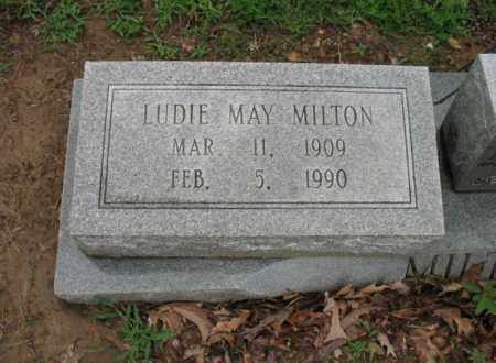 MILTON, LUDIE MAY - St. Francis County, Arkansas | LUDIE MAY MILTON - Arkansas Gravestone Photos
