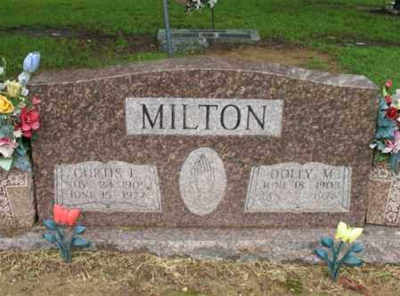 MILTON, DOLLY M - St. Francis County, Arkansas | DOLLY M MILTON - Arkansas Gravestone Photos