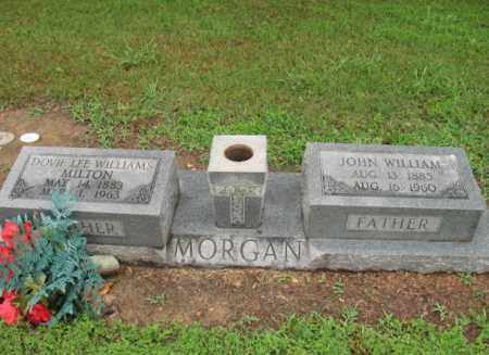 MORGAN, JOHN WILLIAM - St. Francis County, Arkansas | JOHN WILLIAM MORGAN - Arkansas Gravestone Photos