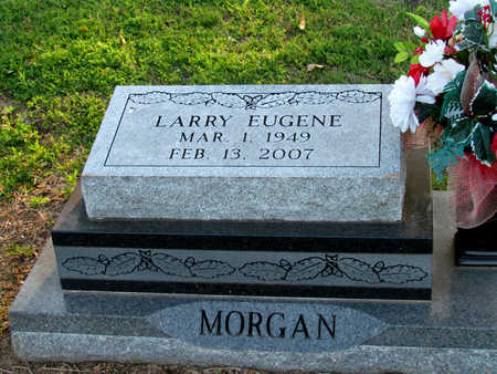 MORGAN, LARRY EUGENE - St. Francis County, Arkansas | LARRY EUGENE MORGAN - Arkansas Gravestone Photos
