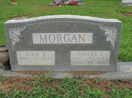 MORGAN, ROBERT L - St. Francis County, Arkansas | ROBERT L MORGAN - Arkansas Gravestone Photos