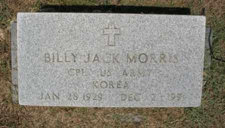 MORRIS (VETERAN KOR), BILLY JACK - St. Francis County, Arkansas | BILLY JACK MORRIS (VETERAN KOR) - Arkansas Gravestone Photos