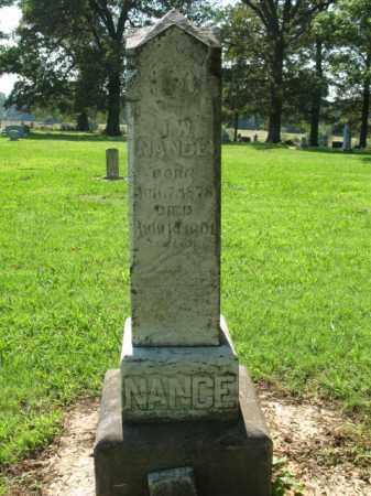 NANCE, J W - St. Francis County, Arkansas | J W NANCE - Arkansas Gravestone Photos