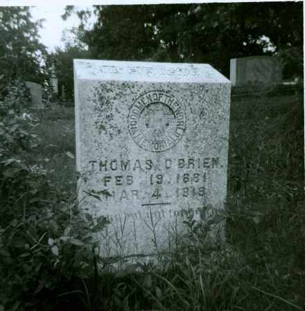 O'BRIEN, THOMAS - St. Francis County, Arkansas | THOMAS O'BRIEN - Arkansas Gravestone Photos