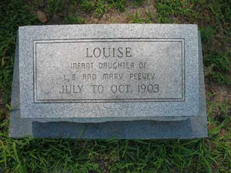 PEEVEY, LOUISE - St. Francis County, Arkansas | LOUISE PEEVEY - Arkansas Gravestone Photos