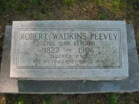 PEEVEY (VETERAN CSA), ROBERT WADKINS - St. Francis County, Arkansas | ROBERT WADKINS PEEVEY (VETERAN CSA) - Arkansas Gravestone Photos