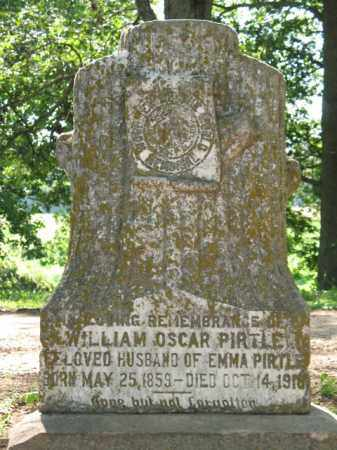 PIRTLE, WILLIAM OSCAR - St. Francis County, Arkansas | WILLIAM OSCAR PIRTLE - Arkansas Gravestone Photos