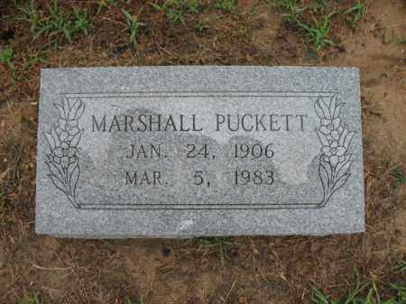 PUCKETT, MARSHALL - St. Francis County, Arkansas | MARSHALL PUCKETT - Arkansas Gravestone Photos