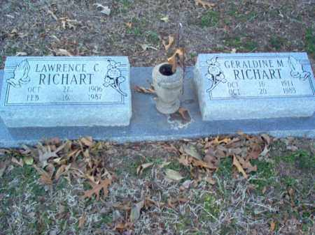RICHART, GERALDINE MARIE - St. Francis County, Arkansas | GERALDINE MARIE RICHART - Arkansas Gravestone Photos