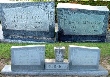MATLOCK ROBERTS, GRADY - St. Francis County, Arkansas | GRADY MATLOCK ROBERTS - Arkansas Gravestone Photos
