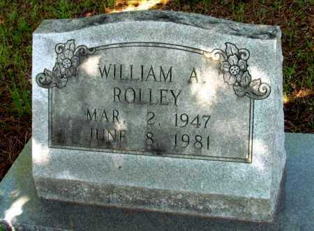 ROLLEY, WILLIAM A - St. Francis County, Arkansas | WILLIAM A ROLLEY - Arkansas Gravestone Photos
